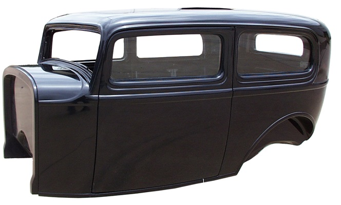 1932 Ford Sedan Body Left View cropped