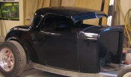 1933 Plymouth - Molding, Rear Window